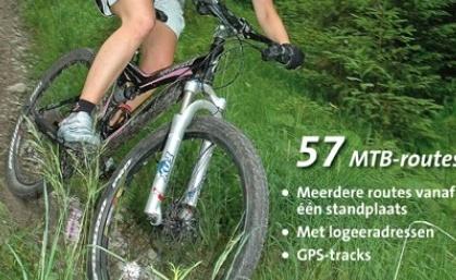 mountainbike route Ardennen