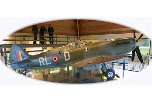 Spitfire museum Florennes