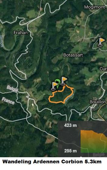 Wandeling Ardennen Corbion