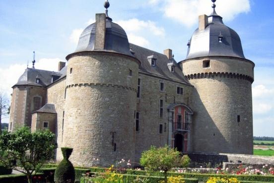 kasteel van Lavaux Sainte-Anne
