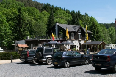 camping les salins Ardennen