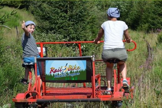 Railbike Butgenbach Ardennen